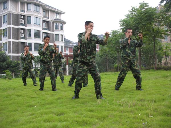 秩序部日常训练